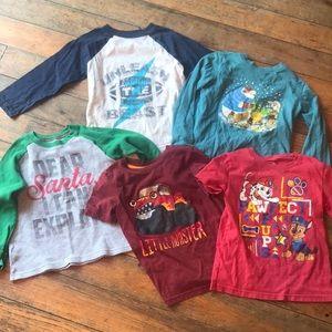Size 5 Boys Shirt lot